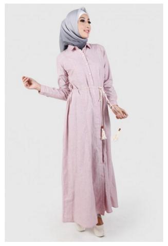 10 Contoh Gamis Cantik Dari Katalog Zoya Busana Muslim 2017