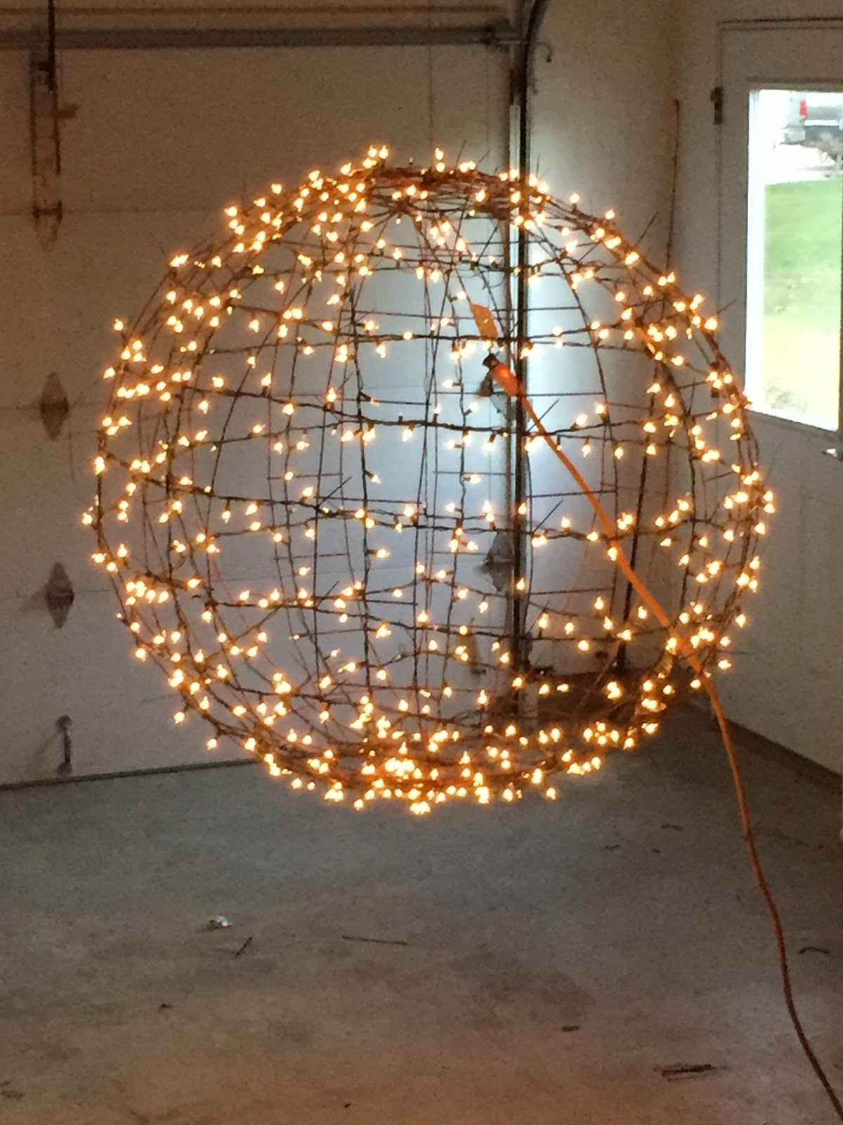 How To Make Your Own Hanging Light Orb