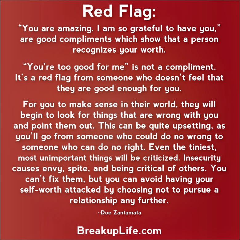 9 dating red flags Egedal