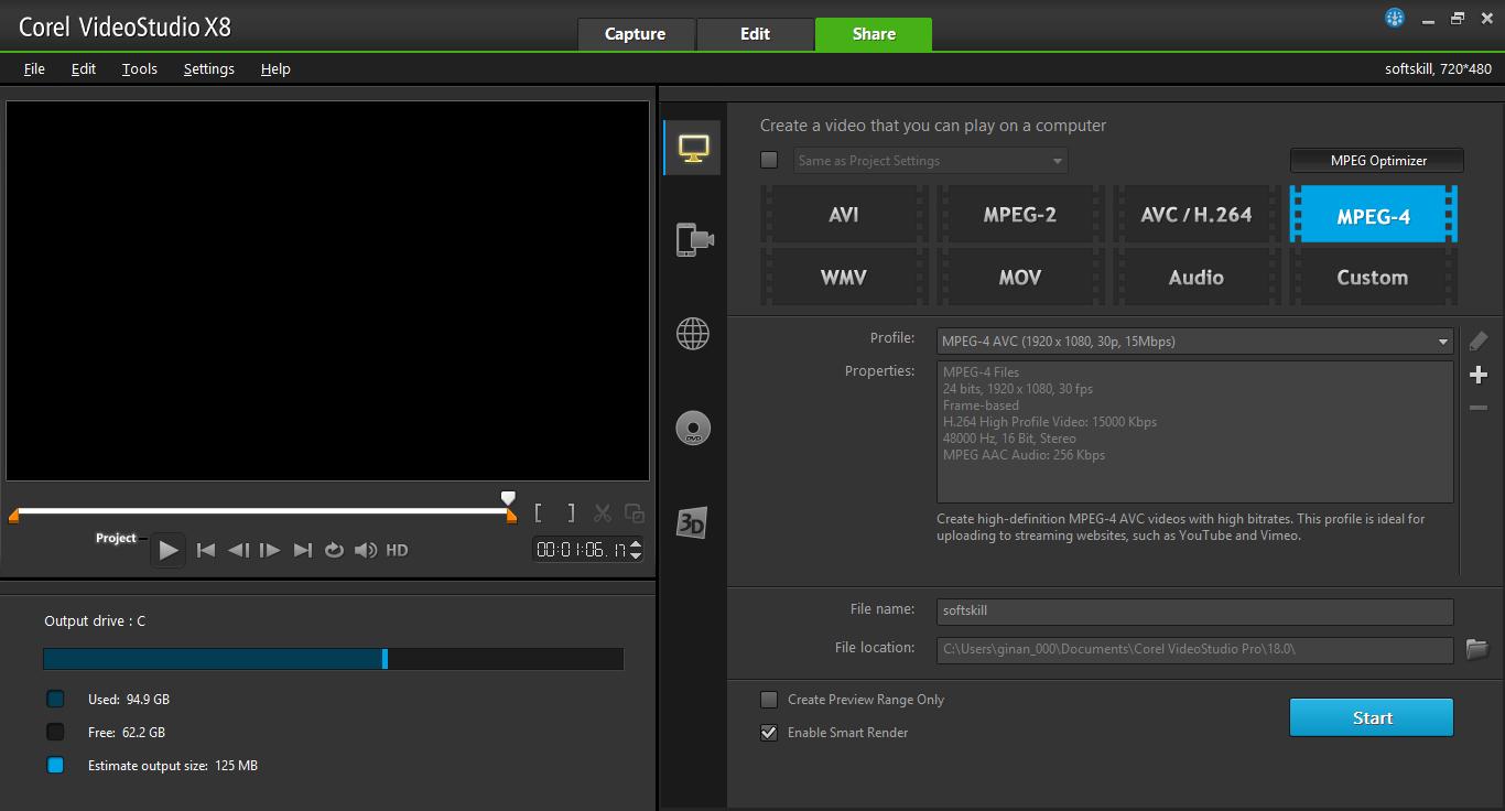 cara crack corel videostudio pro x8