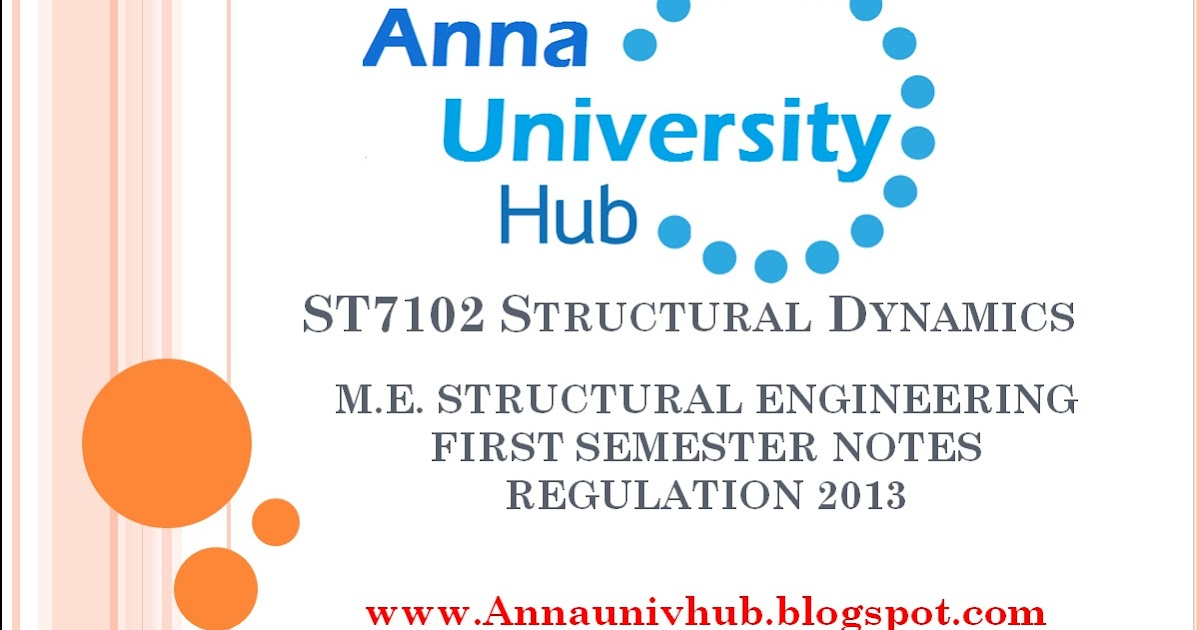Structural Engineering subjects