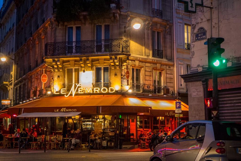 Paris France restaurant Le Nemrod