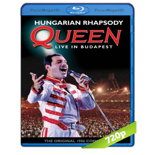 Hungarian Rhapsody: Queen Live in Budapest `86(2012) BrRip 720p Ingles AC3 5.1