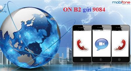 Cú pháp đăng ký gói CVQT B2 Mobifone