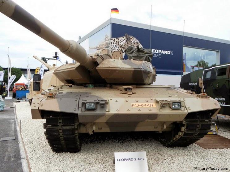 MBT Leopard 2A7 Tank