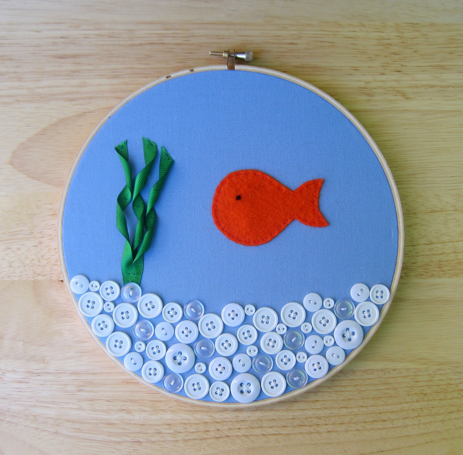 It 39 s always something may 2011 for Fish bowl craft