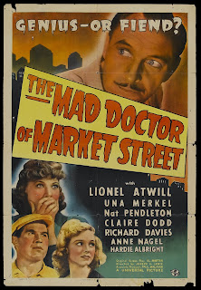 Mad Doctor of Market Street One Sheet