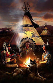 native american spirituality, peace pipe, teepee