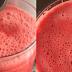 Suco de melancia com gengibre para aliviar o calor