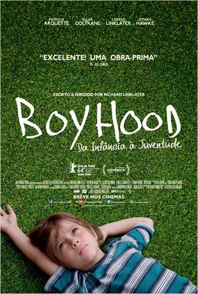 """Poster do filme""""Boyhood - Da Infância à Juventude"""