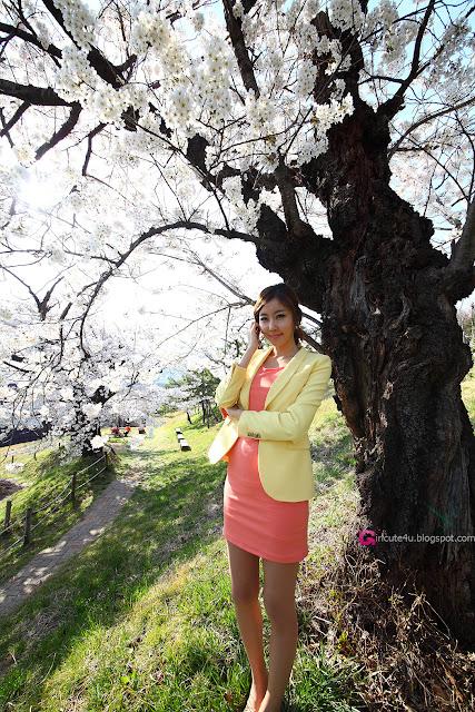 3 Choi Byeol Yee - Beautiful Outdoor-very cute asian girl-girlcute4u.blogspot.com
