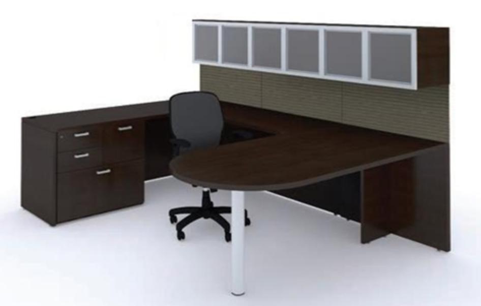 Cherryman Amber Executive Workstation