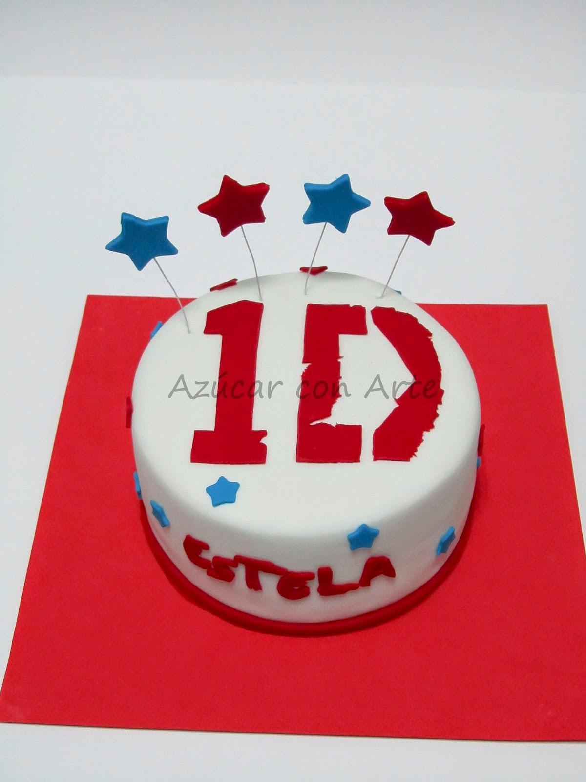 tarta one direction, tarta sin gluten, gluten free cake | azucar con arte