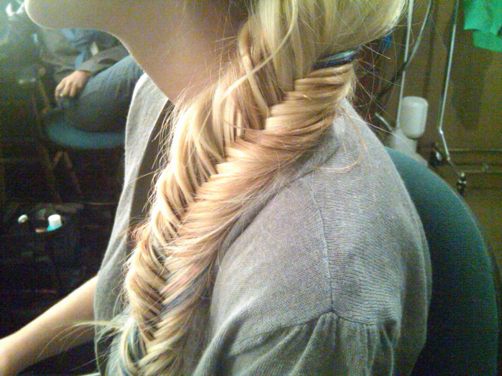 Hair and make up by steph the braid breakdown for Fish tail hair
