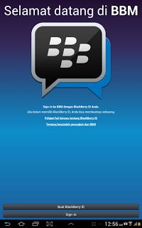 Langkah Install BBM Android di Tablet Samsung Galaxy Tab