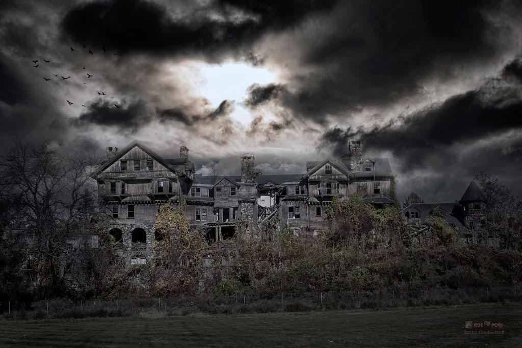 photo de charles bodi representant une maison pour filles abandonnée