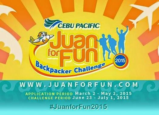 Cebu Pacific's Juan for Fun Backpacker Challenge is Back!