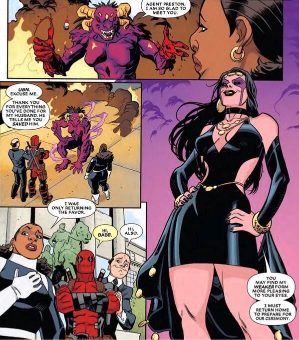 Jon's Blog: Deadpool's Bride Revealed!