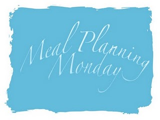 Meal Planning Monday 23 Apr 2012