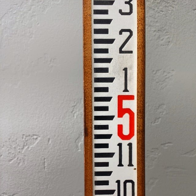 #thriftscorethursday Week 44 | Instagram user: thehowtogal shows off this Vintage Ruler