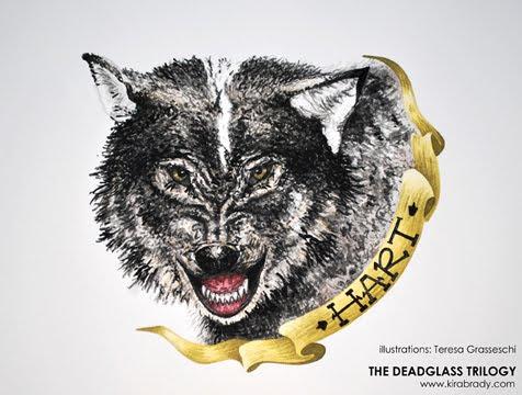 Kira Brady Hart Deadglass trilogy