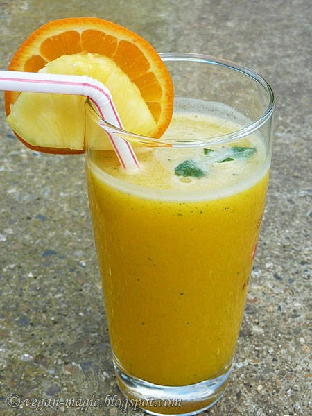 Pineapple Mint Juice