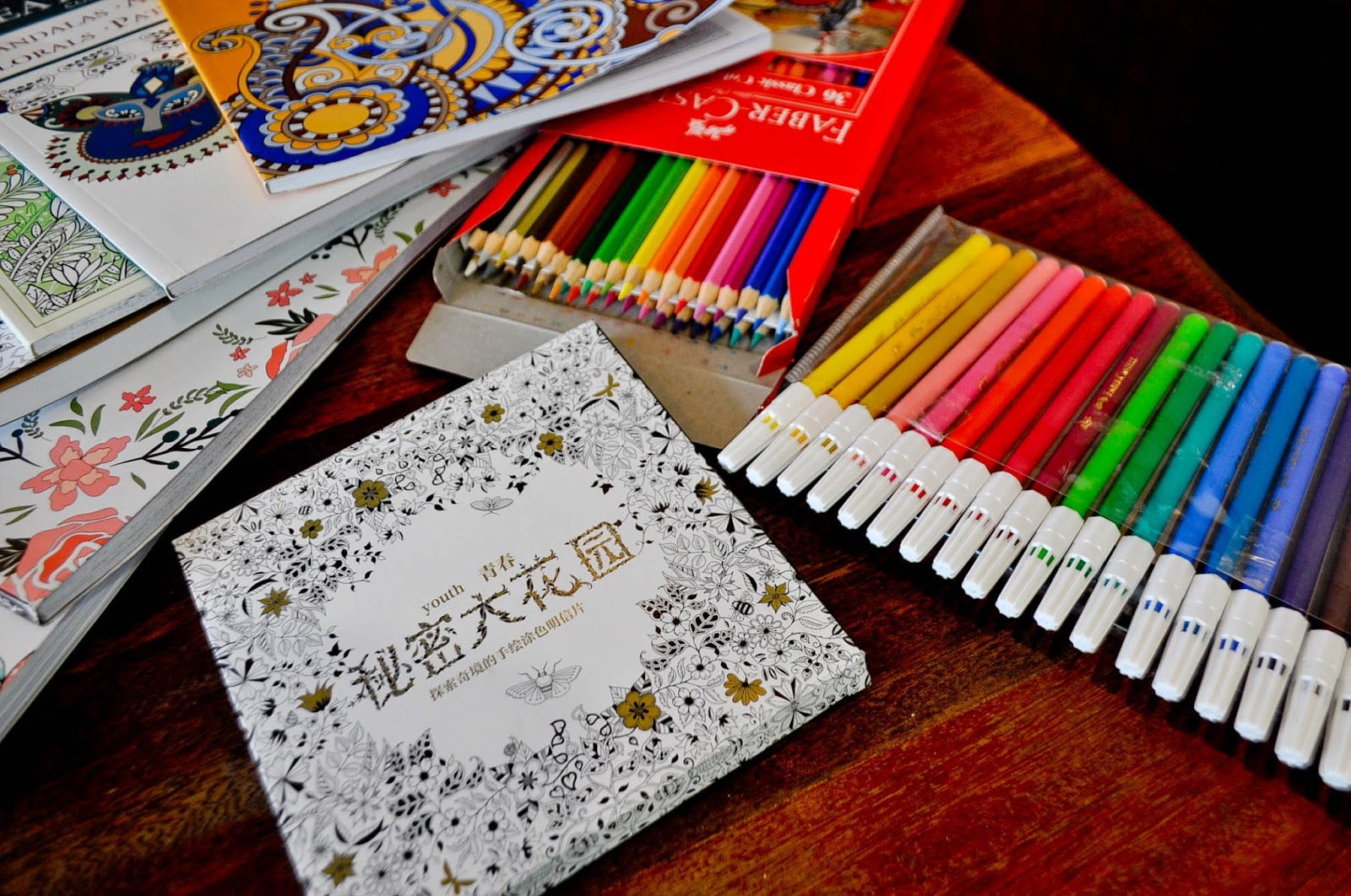 Adult Coloring Pastime Has Been On For A Couple Of Months Now And In The Beginning I Didnt Want To Go With Trend Why Simple Because First Books