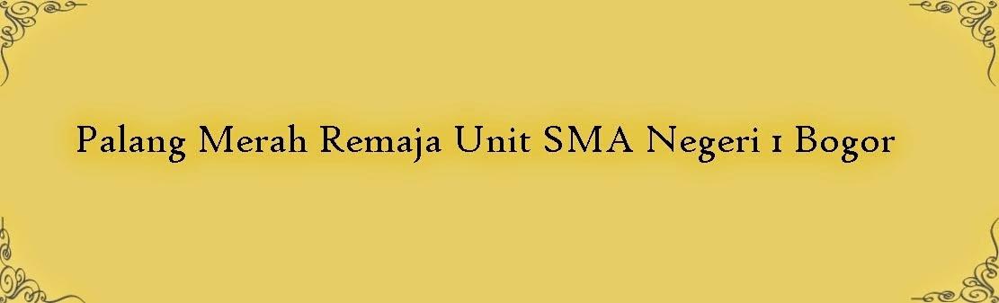 PMR Unit SMAN 1 Bogor