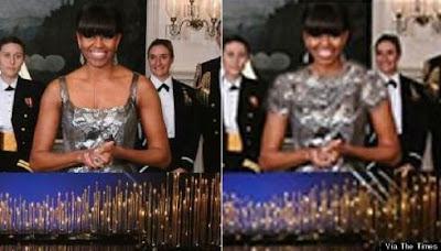 Irã retira o decote de Michelle Obama na premiação do Oscar