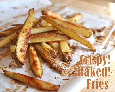 Beer-Soaked Crispy Baked Fries