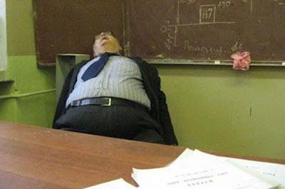 Maestro gordo cabrón