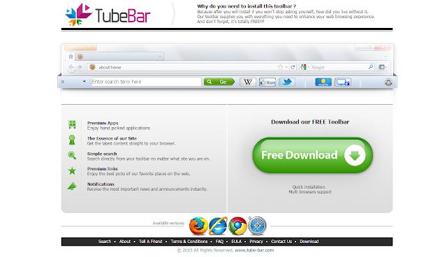 TubeBar Toolbar