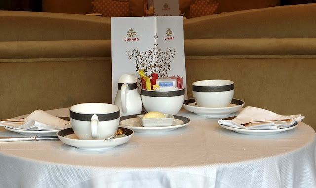 Cunard & Twinings Tea Rituals Afternoon Tea on the Queen Elizabeth via www.allaboutcunard.com