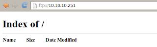 Akses server FTP
