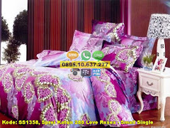 Harga Sprei Katun 288 Love Roses – Small Single Jual