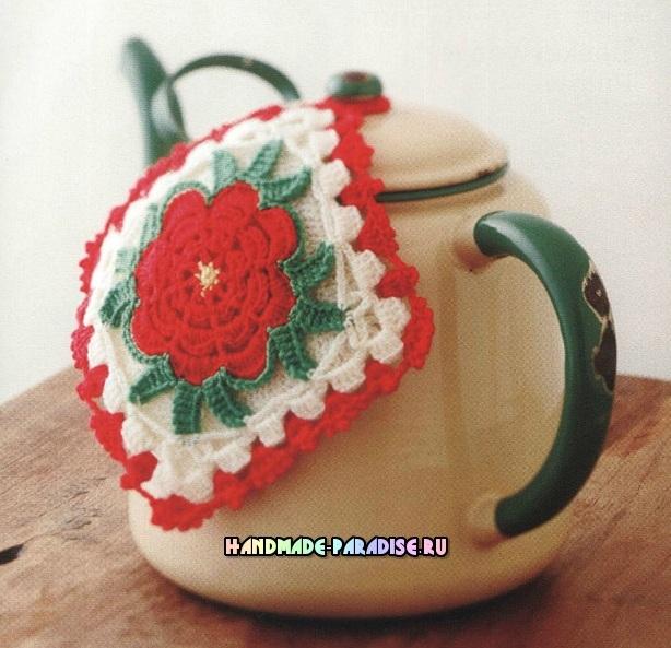 Прихватки крючком. Crochet With Color - журнал со схемами