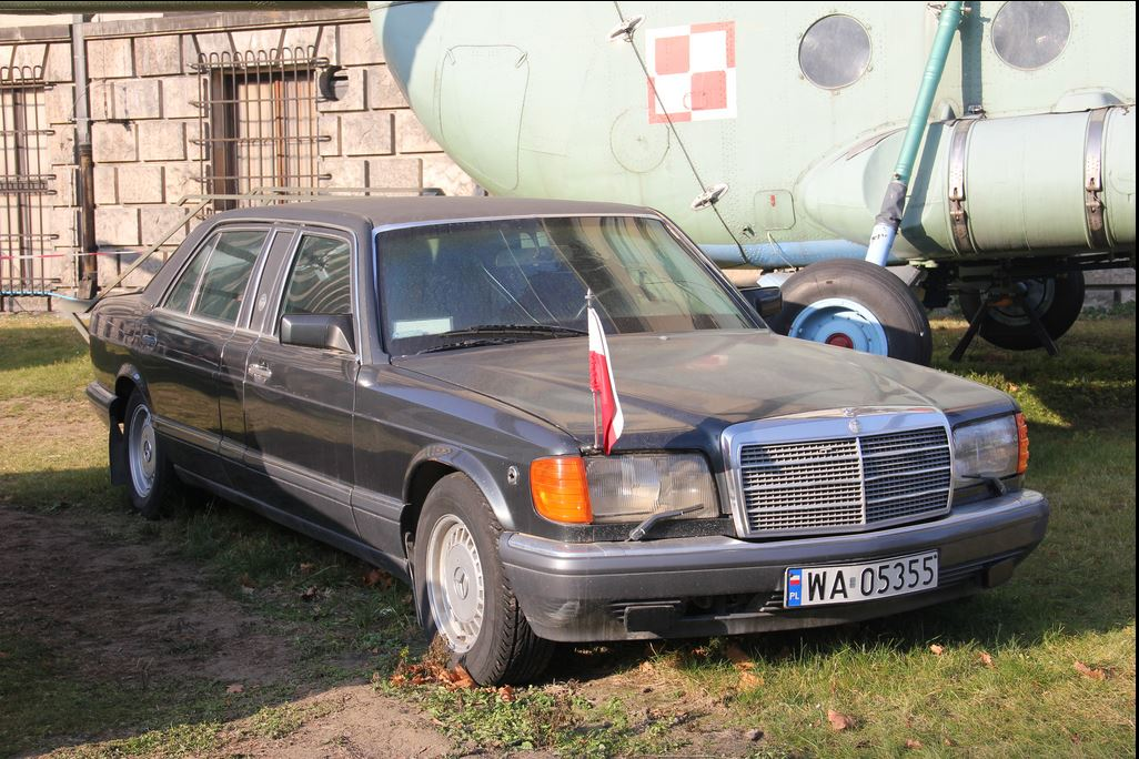 Trasco-forever: BOR Mercedes 500 SL TRASCO , Polish Army ...