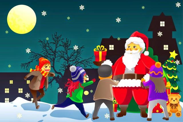 Seasons Greeting-Santa Claus-Toys-Childrens-Gift-Cartoon-HD-HQ ...