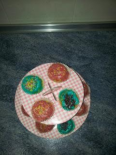 mis primeros cupcackes