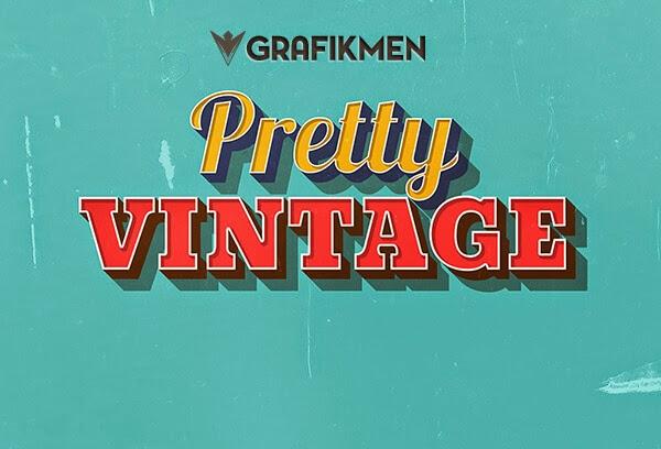 Ücretsiz Pretty Vintage Yazı Stili