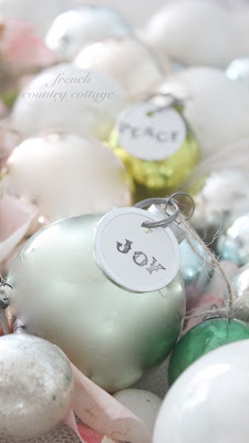 Vintage Christmas Ornament Gifts
