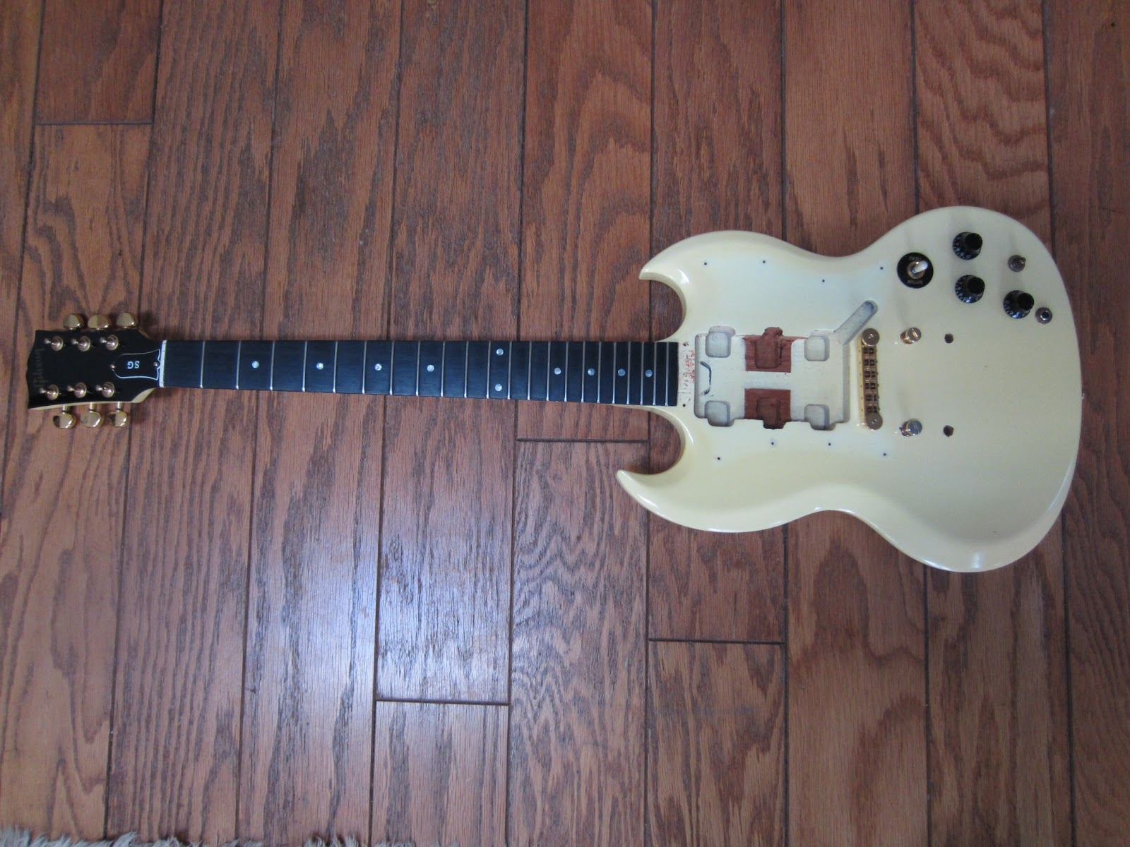 Jw Guitarworks 1999 Gibson Sg Project Andy Summers Telecaster Wiring Diagram Ebay Purchase At Reasonable Price Considering The Condition Basic With Some Wear And Cracks In Finish From Almost 15 Years Of Use