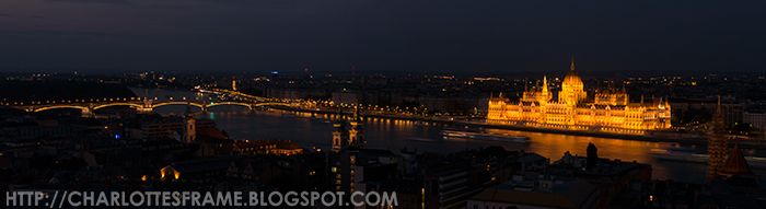 Budapest Parlement Panaroma