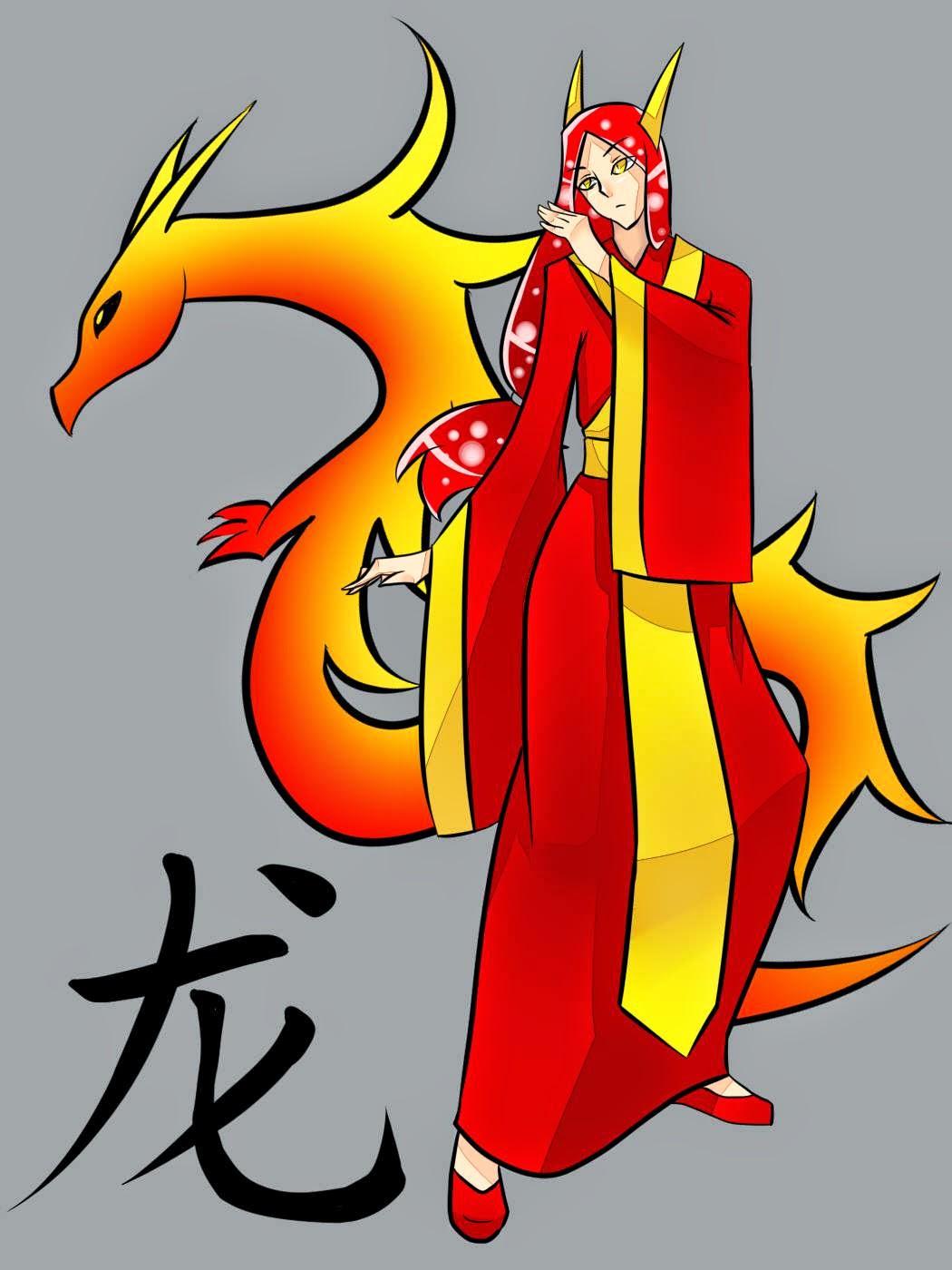 Imagen del Zodiaco Chino, símbolo del Dragón