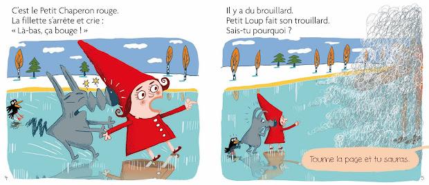 Petit Loup sauve Noël