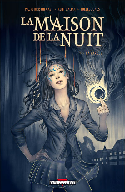 BD House of night La+maison+de+la+nuit+delcourt