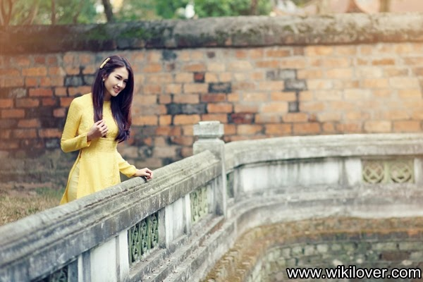 "The traditional beauty of Vietnamese in ""ao dai"" - Photos"