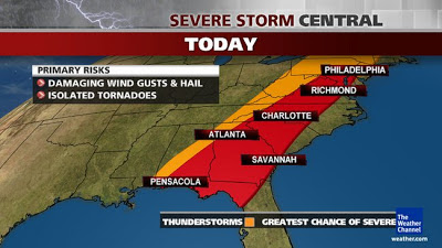 Weather.com Severe Weather Graphic