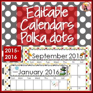 Calendars editable