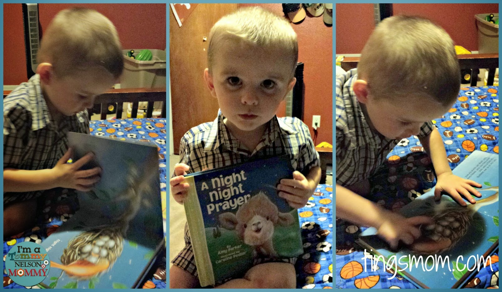 A Night Night Prayer {Review & Giveaway} | #giveaway #sponsored #tommymommy #kidbooks